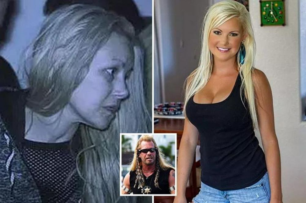 Moment Tiger Woods' ex Jamie Jungers is rescued by Dog the Bounty Hunter from Las Vegas den where she was trading sex for heroin